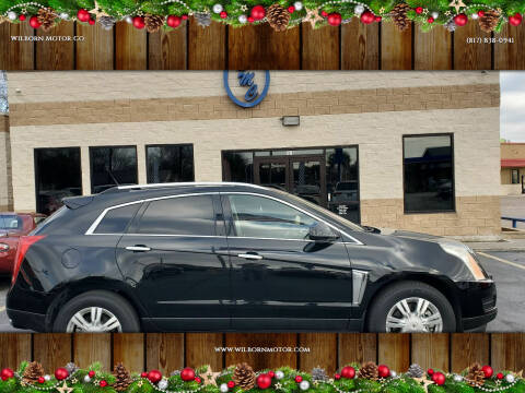 2014 Cadillac SRX for sale at Wilborn Motor Co in Fort Worth TX