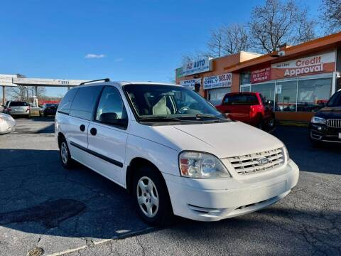 2007 Ford Freestar for sale at AZ AUTO in Carlisle PA