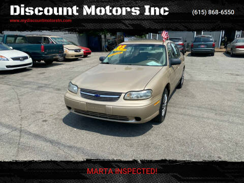 2005 Chevrolet Classic for sale at Discount Motors Inc in Madison TN