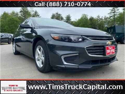 2018 Chevrolet Malibu for sale at TTC AUTO OUTLET/TIM'S TRUCK CAPITAL & AUTO SALES INC ANNEX in Epsom NH