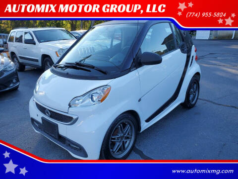 2015 Smart fortwo for sale at AUTOMIX MOTOR GROUP, LLC in Swansea MA