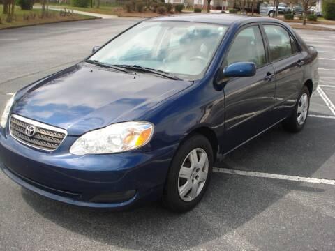 2008 Toyota Corolla for sale at Uniworld Auto Sales LLC. in Greensboro NC