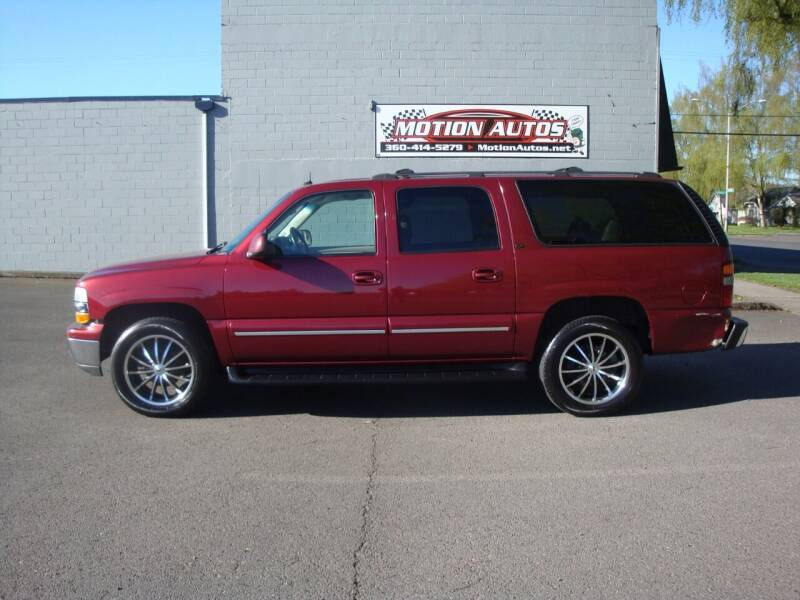 2003 Chevrolet Suburban for sale at Motion Autos in Longview WA