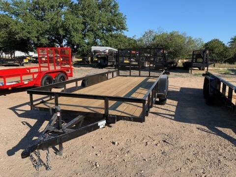 """2021 P & C  - UTILITY 83"""" X 18' - IN for sale at LJD Sales in Lampasas TX"""