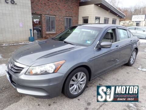2012 Honda Accord for sale at S & J Motor Co Inc. in Merrimack NH