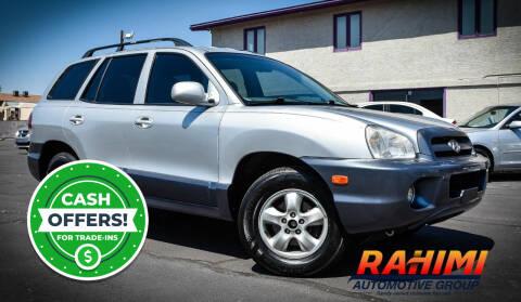 2005 Hyundai Santa Fe for sale at Rahimi Automotive Group in Yuma AZ