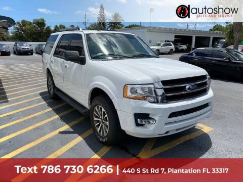 2017 Ford Expedition for sale at AUTOSHOW SALES & SERVICE in Plantation FL
