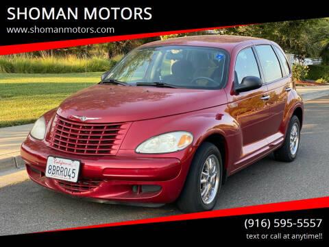 2004 Chrysler PT Cruiser for sale at SHOMAN MOTORS in Davis CA