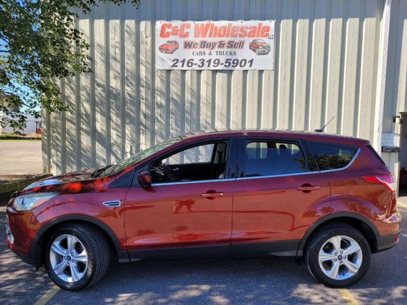 2015 Ford Escape for sale at C & C Wholesale in Cleveland OH