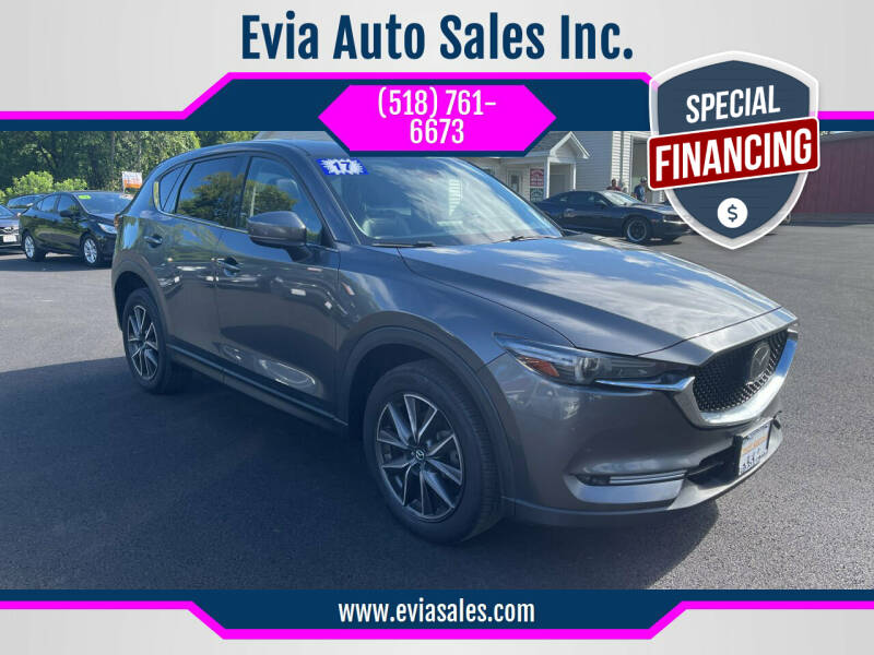 2017 Mazda CX-5 for sale at Evia Auto Sales Inc. in Glens Falls NY