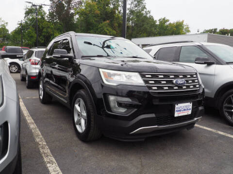 2017 Ford Explorer for sale at MAPLECREST FORD LINCOLN USED CARS in Vauxhall NJ