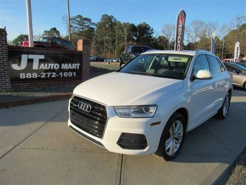 2016 Audi Q3 for sale at J T Auto Group in Sanford NC