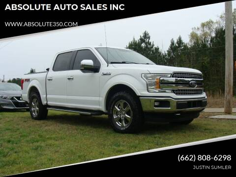 2018 Ford F-150 for sale at ABSOLUTE AUTO SALES INC in Corinth MS