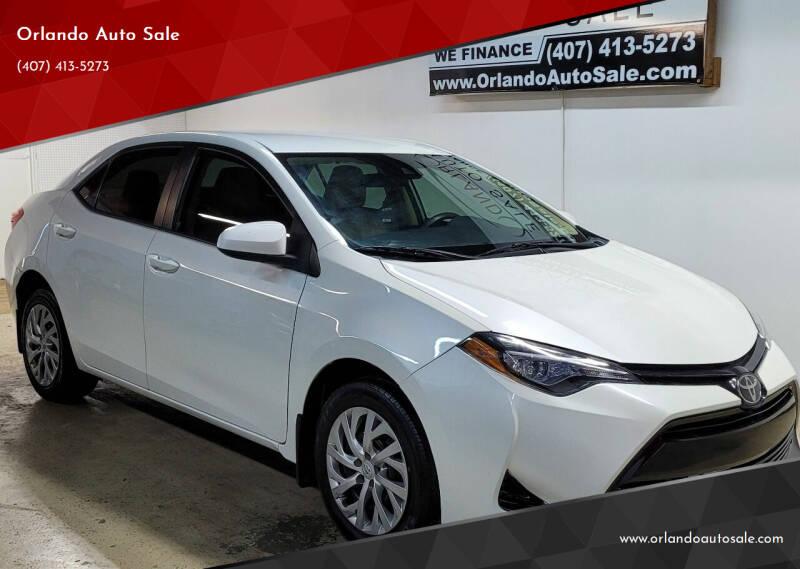 2017 Toyota Corolla for sale at Orlando Auto Sale in Orlando FL