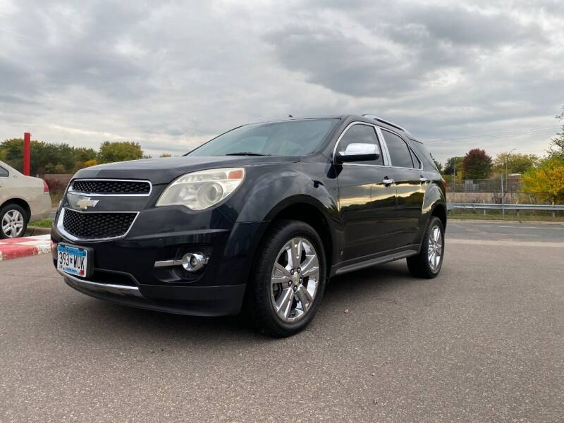 2010 Chevrolet Equinox for sale at Auto Tech Car Sales and Leasing in Saint Paul MN