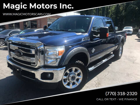 2012 Ford F-250 Super Duty for sale at Magic Motors Inc. in Snellville GA