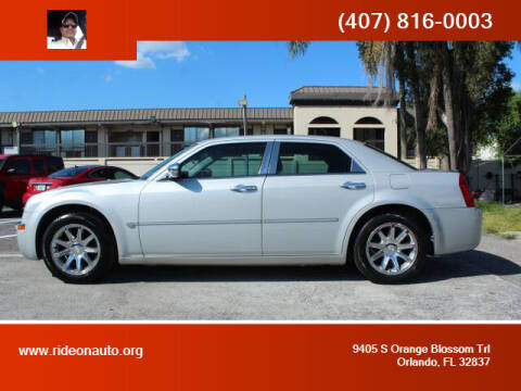 2005 Chrysler 300 for sale at Ride On Auto in Orlando FL