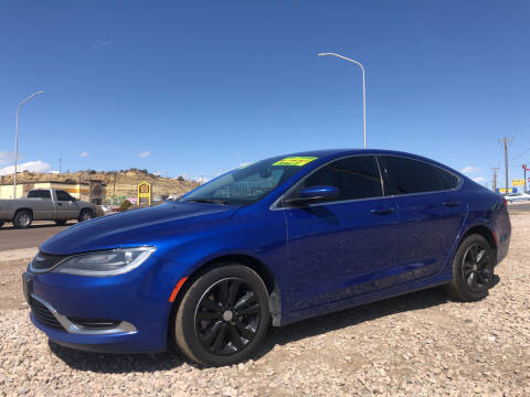 2016 Chrysler 200 for sale at 1st Quality Motors LLC in Gallup NM