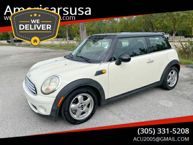 2009 MINI Cooper for sale at Americarsusa in Hollywood FL