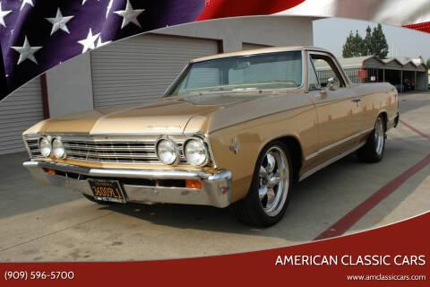 1967 Chevrolet El Camino for sale at American Classic Cars in La Verne CA