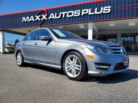 2012 Mercedes-Benz C-Class for sale at Maxx Autos Plus in Puyallup WA