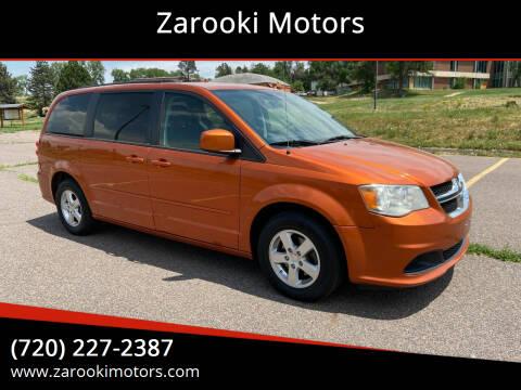 2011 Dodge Grand Caravan for sale at Zarooki Motors in Englewood CO
