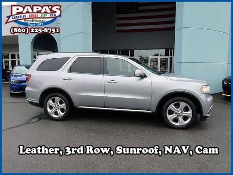 2014 Dodge Durango for sale at Papas Chrysler Dodge Jeep Ram in New Britain CT