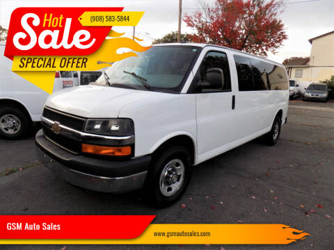 2015 Chevrolet Express Passenger for sale at GSM Auto Sales in Linden NJ