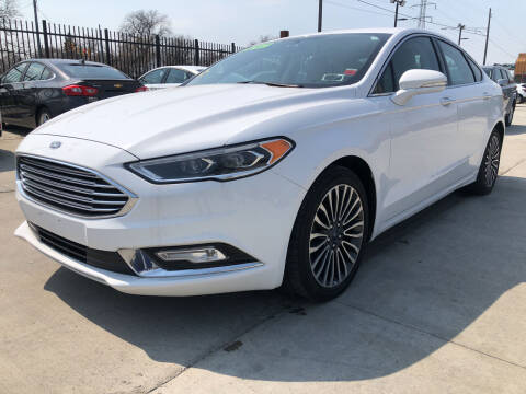 2017 Ford Fusion for sale at Julian Auto Sales, Inc. - Number 1 Car Company in Detroit MI
