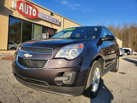 2015 Chevrolet Equinox for sale at Auto Wholesalers Of Hooksett in Hooksett NH