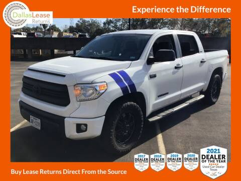 2017 Toyota Tundra for sale at Dallas Auto Finance in Dallas TX