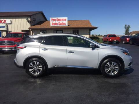 2018 Nissan Murano for sale at Pro Source Auto Sales in Otterbein IN