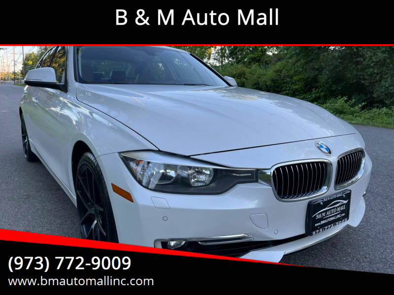 2015 BMW 3 Series for sale at B & M Auto Mall in Clifton NJ