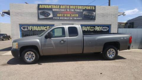 2009 Chevrolet Silverado 1500 for sale at Advantage Motorsports Plus in Phoenix AZ