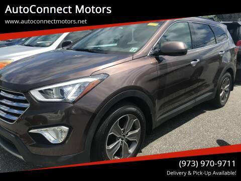 2015 Hyundai Santa Fe for sale at AutoConnect Motors in Kenvil NJ