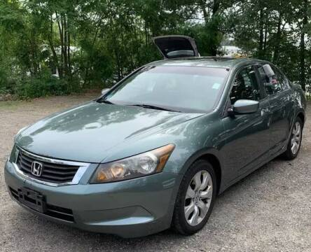 2008 Honda Accord for sale at Broadway Garage of Columbia County Inc. in Hudson NY