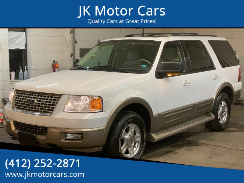 2004 Ford Expedition for sale at JK Motor Cars in Pittsburgh PA