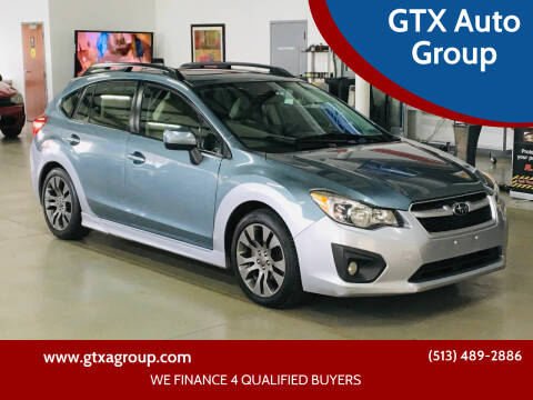 2012 Subaru Impreza for sale at GTX Auto Group in West Chester OH