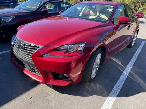 2015 Lexus IS 250 for sale at PHIL SMITH AUTOMOTIVE GROUP - SOUTHERN PINES GM in Southern Pines NC