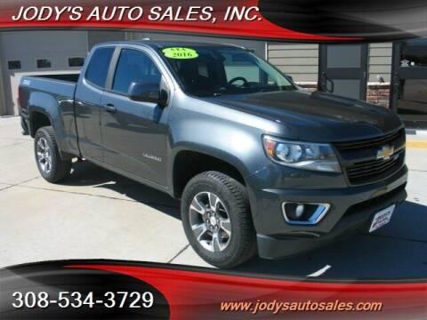 2016 Chevrolet Colorado for sale at Jody's Auto Sales in North Platte NE