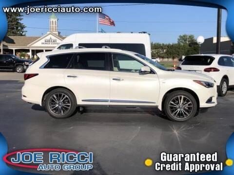 2017 Infiniti QX60 for sale at JOE RICCI AUTOMOTIVE in Clinton Township MI