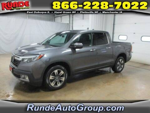 2018 Honda Ridgeline for sale at Runde Chevrolet in East Dubuque IL