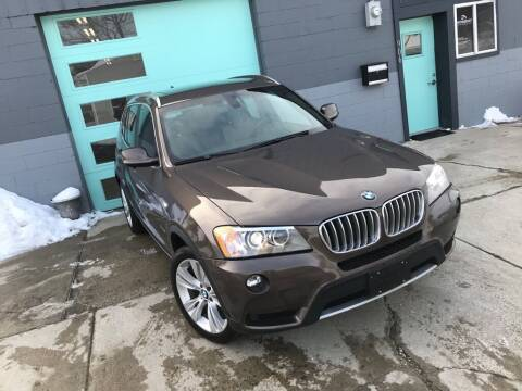 2012 BMW X3 for sale at Enthusiast Autohaus in Sheridan IN