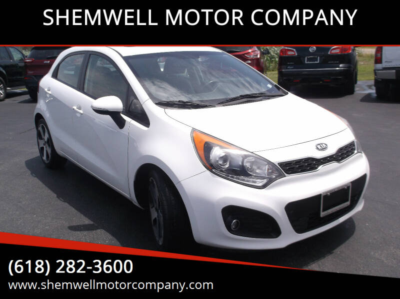 2012 Kia Rio 5-Door for sale at SHEMWELL MOTOR COMPANY in Red Bud IL