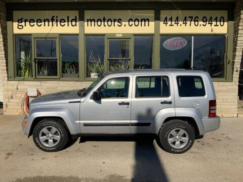 2012 Jeep Liberty for sale at GREENFIELD MOTORS in Milwaukee WI