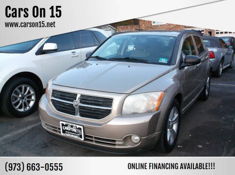 2010 Dodge Caliber for sale at Cars On 15 in Lake Hopatcong NJ