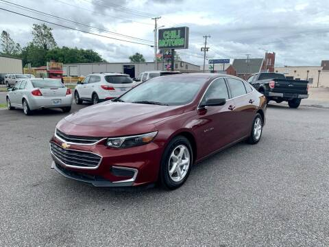 2016 Chevrolet Malibu for sale at CHILI MOTORS in Mayfield KY