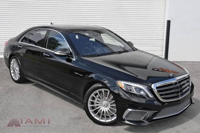 2015 Mercedes-Benz S-Class for sale in Miami, FL