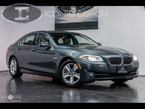2012 BMW 5 Series for sale at Iconic Coach in San Diego CA