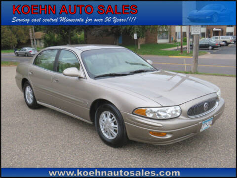 2004 Buick LeSabre for sale at Koehn Auto Sales in Lindstrom MN